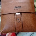 Bolsa Jeep e Carteira - Couro Italiano Modelo New Postman photo review